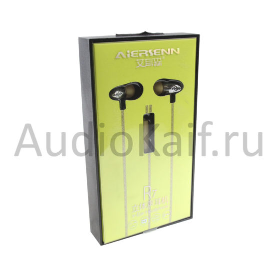 Наушники ARS-R7 Aiersenn Новые золотистого цвета (Iphone, Android) - Жёлтый-Yellow
