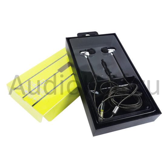 Наушники ARS-R7 Aiersenn Новые золотистого цвета (Iphone, Android)