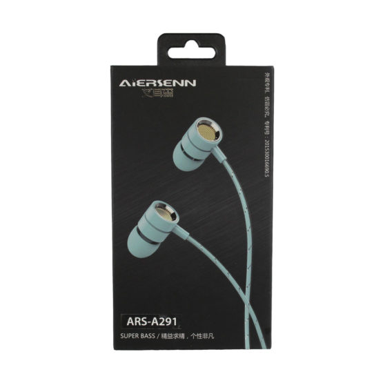 "Стильные наушники ARS-A291 Aiersenn (Iphone, Android) ""А32"""