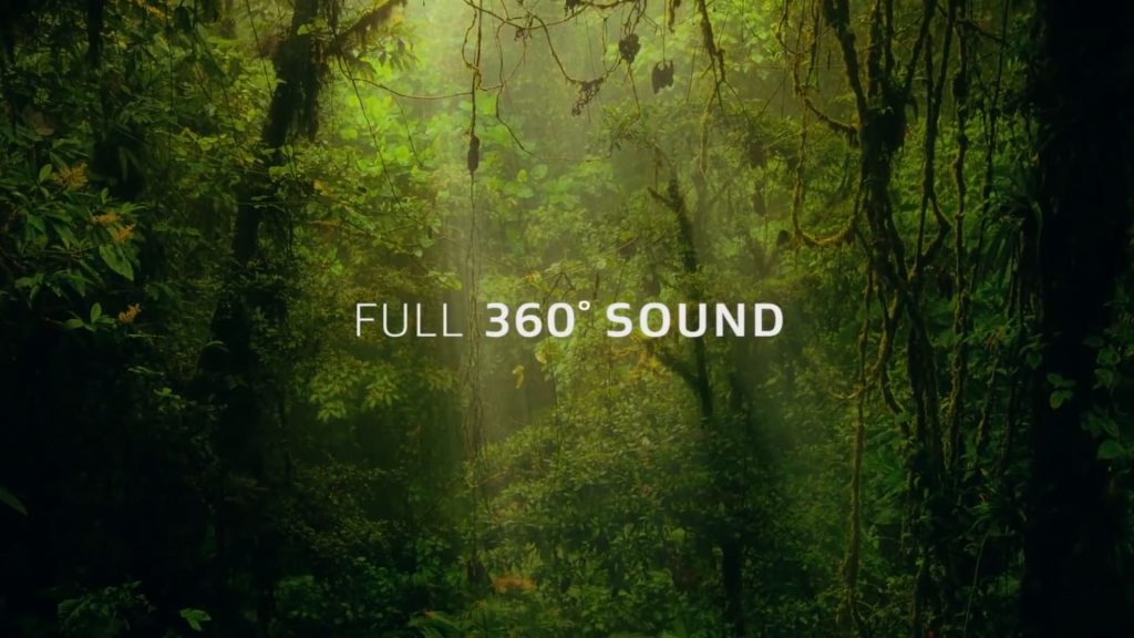 3D Звук природы от Dolby Atmos